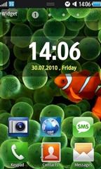 widget samsung wave s8500